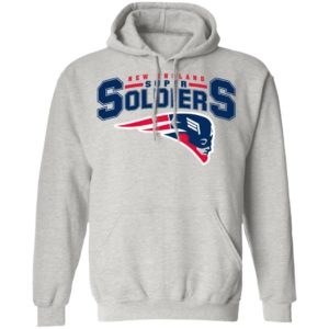 NEW ENGLAND SUPER SOLDIERS Star Wars Mashup T-Shirt
