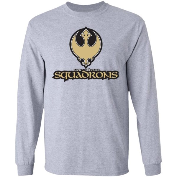 New Orleans Squadrons Star Wars Mashup T-Shirt
