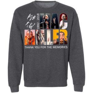 Mac Miller 1992 2018 Thank You For The Memories Signature Shirt