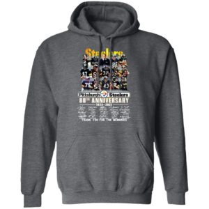 Pittsburgh Steelers 88th Anniversary 1933 2021 Thank You For The Memories Signatures Shirt