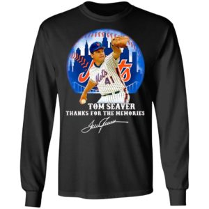 Tom Seaver Thank You For The Memories Signature Shirt