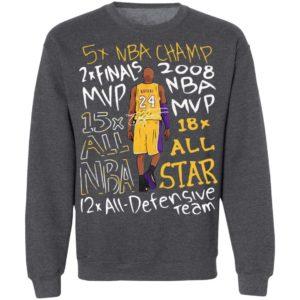 Kobe Bryant title Collection Shirt