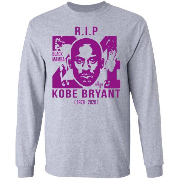 Kobe Bryant Black Mamba RIP Shirt