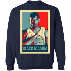 Kobe Bryant The Black Mamba Obama Hope Shirt