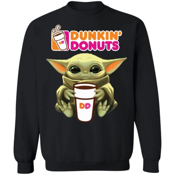 Baby Yoda Dunkin' Donuts Shirt