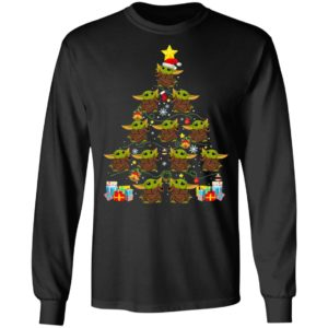 Baby Yoda Tree Merry Christmas Sweatshirt