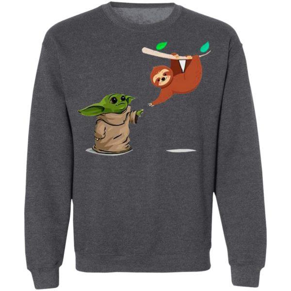 Star Wars Baby Yoda And Sloth Shirt