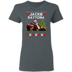 Santa Jackie Daytona Regular Human Bartender Ugly Christmas Sweater