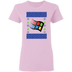Microsoft Windows XP Ugly Christmas Sweater Shirt
