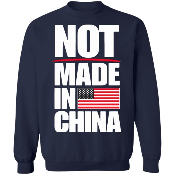 American Flag Not Made In China Shirt
