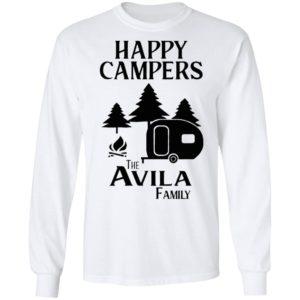 Happy Campers The Avila Family Shirt