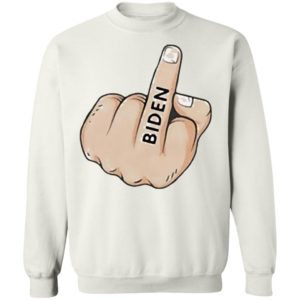 Middle Finger Fuck Biden Shirt, Hoodie