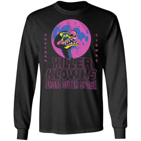 Popcorn Clowns Killer Klowns From Outer Space Shirt, Ladies Tee