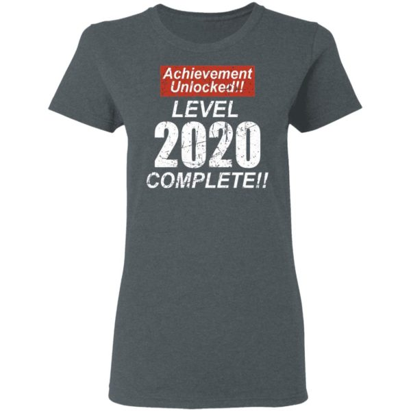 Retro Achievement Unlocked Level 2020 Complete Shirt