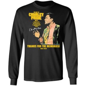 The Best Of Charley Pride Thank You For The Memories 1934 2020 Signature Shirt