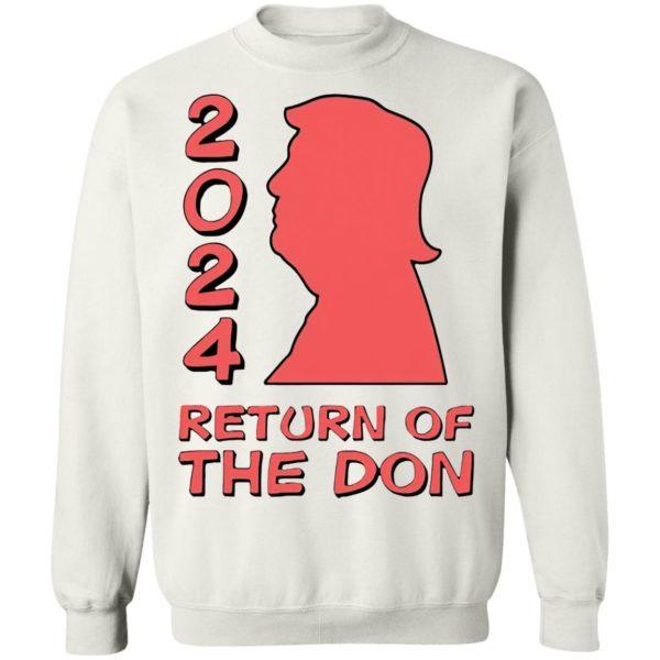 Trump 2024 Return Of The Don shirt