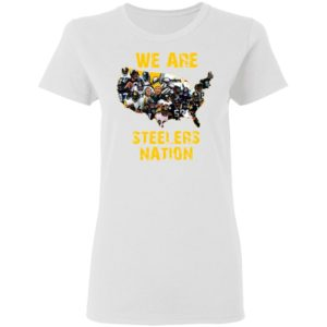 Pittsburgh Steelers We Are Steelers Nation American Map Shirt