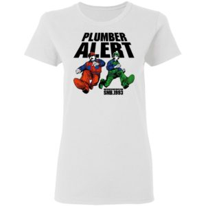 SMB 1993 Plumber Alert Shirt, Hoodie, Long Sleeve, Hoodie