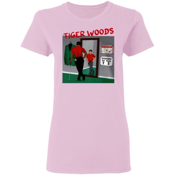 Tiger Woods In The Mirror Shirt, Hoodie
