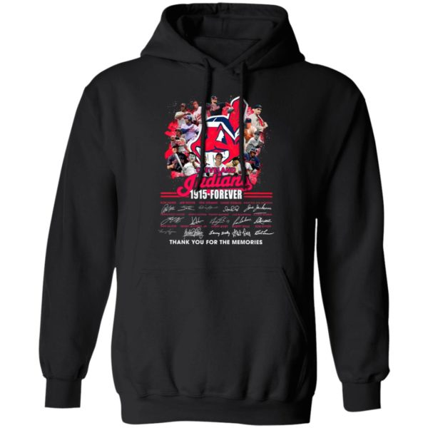 Cleveland Indians 1915 Forever Thank You For The Memories Signatures Shirt