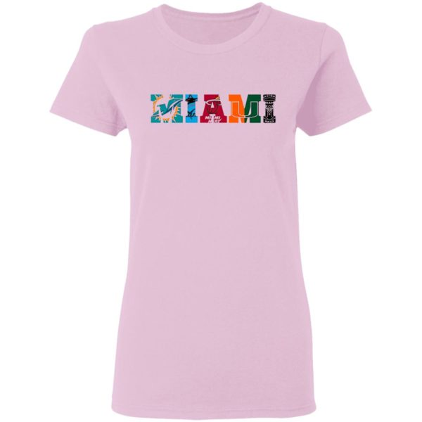 Miami Marlins Miami Heat Miami Hurricanes Inter Miami Miami Dolphins Shirt