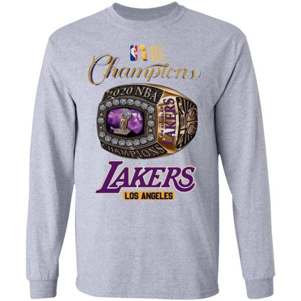 Los Angeles Lakers Nba Finals 2020 Champions Shirt