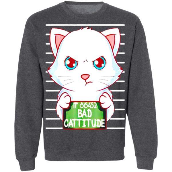 Wanted Cat No 86452 Bad Cattitude shirt, Hoodie, Long Sleeve, Hoodie