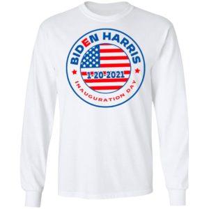 Biden Harris 1 20 2021 Inauguration Day American Flag Shirt