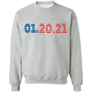 01 20 2021 Inauguration Day American Flag Shirt