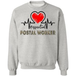 Heartbeat Essential Postal Worker Shirt