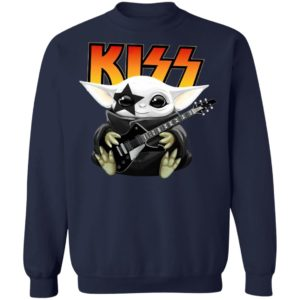 Baby Yoda Kiss Band Shirt