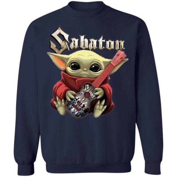 Baby Yoda Hug Sabaton Grop Shirtv