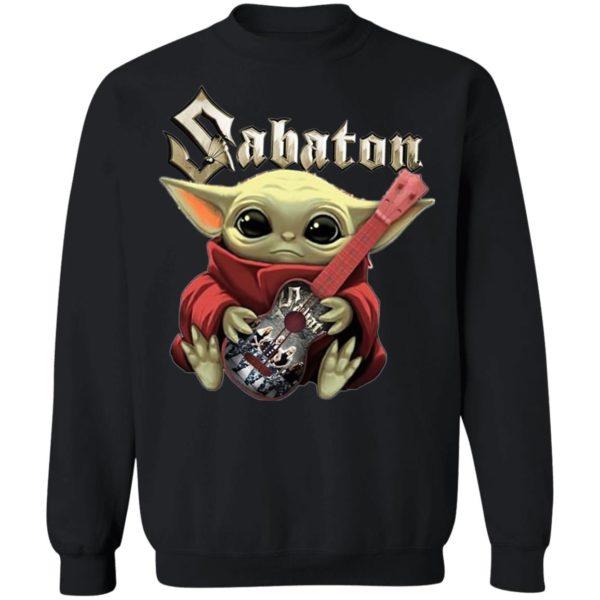 Baby Yoda Hug Sabaton Grop Shirt