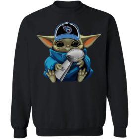 Baby Yoda Hug Titan Cup Shirt
