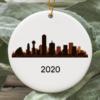 Dallas City 2020 Christmas Tree Ornament