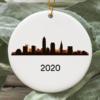 Cleveland City 2020 Christmas Tree Ornament