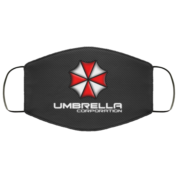 Resident Evil Umbrella Corporation face mask Washable