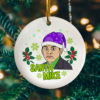 Santa Mike Funny Michael Scott Tree Decoration Christmas Ornament