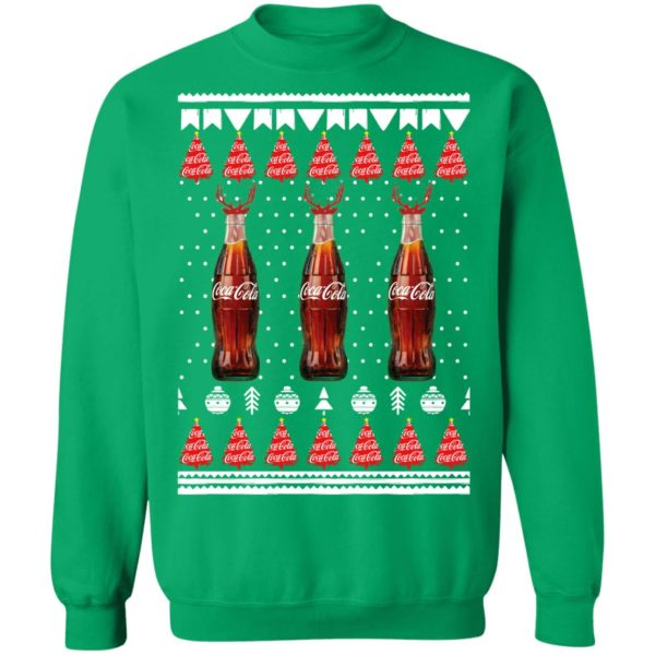 Coca Cola Reindeer Bottles Funny Ugly Christmas Sweater