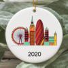 London City 2020 Christmas Tree Ornament