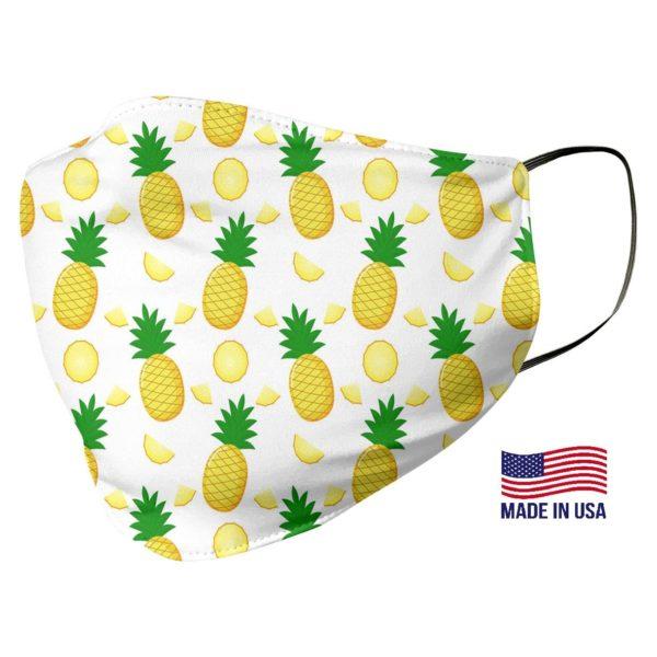 Cute Pineapple Pattern Face Mask