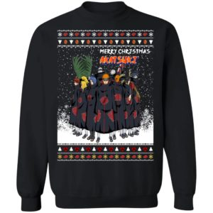 Akatsuki Members Ugly Christmas Sweater