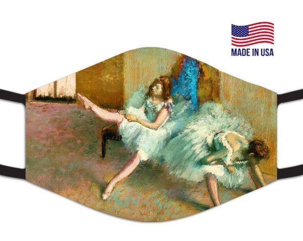 Before The Ballet Edgar Degas Reusable Face Mask