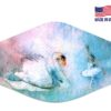 Swan Lake Inspired Reusable Face Mask