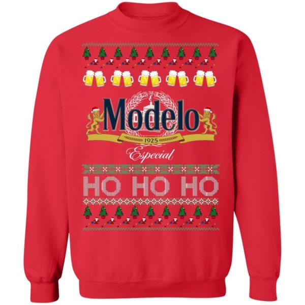 Cerveza Modelo Especial Beer Ho Ho Ho Ugly Christmas Sweater