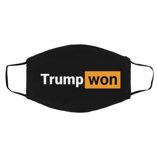 4 More Years Vote Trump Won Donald Trump Face Mask