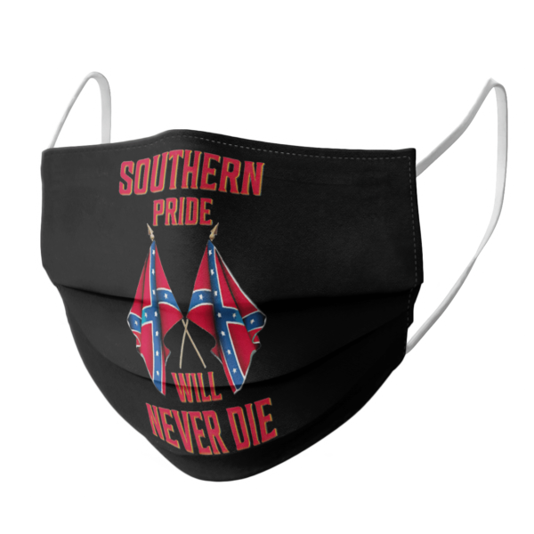 Southern Pride Will Never Die Flag face mask