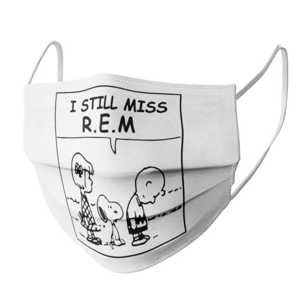 The Peanuts I Still Miss RE face mask