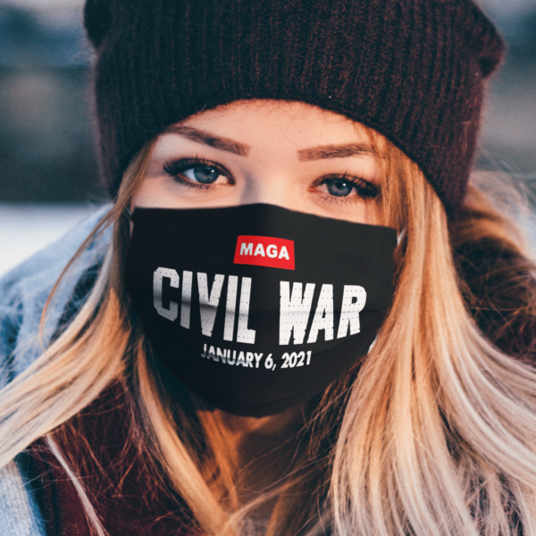 Maga Civil War face mask