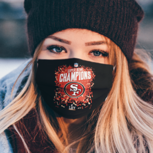 San Francisco 49ers super bowl Champions face mask